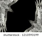 black background with... | Shutterstock .eps vector #1213593199