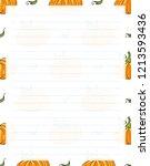 vector printing paper note.... | Shutterstock .eps vector #1213593436