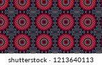 geometric design pattern  | Shutterstock . vector #1213640113