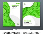 brochure template layout design.... | Shutterstock .eps vector #1213683289