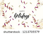 greeting background with... | Shutterstock .eps vector #1213705579