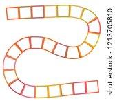 abstract futuristic maze ... | Shutterstock . vector #1213705810