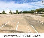 empty large office parking lots ...   Shutterstock . vector #1213733656