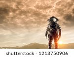 there is life on other planets. ... | Shutterstock . vector #1213750906