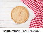 top view wrinkled red... | Shutterstock . vector #1213762909
