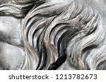 grey wavy granite lion mane... | Shutterstock . vector #1213782673