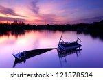 Abandoned Fishing Boat At...