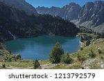 view of era restanca glacial... | Shutterstock . vector #1213792579