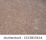 gravel surface is brown pieces... | Shutterstock . vector #1213815616