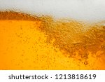 beer background with bubble... | Shutterstock . vector #1213818619