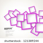 design template   eps10... | Shutterstock .eps vector #121389244