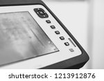 control buttons on industrial... | Shutterstock . vector #1213912876