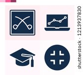 contains such icons as laptop ...   Shutterstock .eps vector #1213937830