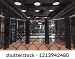 modern boxing ring in the gym ... | Shutterstock . vector #1213942480