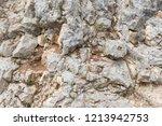 mountain rock texture stone... | Shutterstock . vector #1213942753