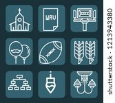 contains such icons as... | Shutterstock .eps vector #1213943380