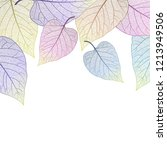 beautiful background with... | Shutterstock .eps vector #1213949506