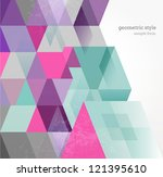 abstract background | Shutterstock .eps vector #121395610