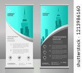 abstract metal texture business ... | Shutterstock .eps vector #1213986160