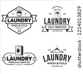 set of labels or logos for... | Shutterstock .eps vector #1214013829
