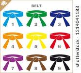 colored belts for martial arts...