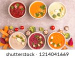 variety of colorful tasty...   Shutterstock . vector #1214041669