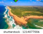 Aerial View Of Sodwana Bay...