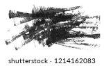 black watercolor stain.... | Shutterstock . vector #1214162083