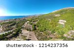 aerial panoramic view of...   Shutterstock . vector #1214237356