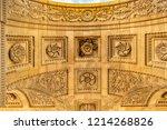 corinthian style paris... | Shutterstock . vector #1214268826