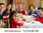 multi generation family... | Shutterstock . vector #121428730