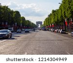 paris  france   may 8  2018 ... | Shutterstock . vector #1214304949