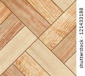 texture of fine brown parquet   Shutterstock . vector #121433188