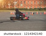 go kart competitions  go kart... | Shutterstock . vector #1214342140