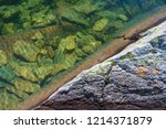 close up of a mountain lake in... | Shutterstock . vector #1214371879