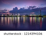 oil and gas industry   refinery ... | Shutterstock . vector #1214394106
