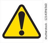warning signs design | Shutterstock . vector #1214396560
