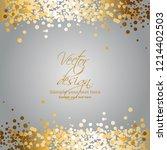 vector illustration of gold... | Shutterstock .eps vector #1214402503