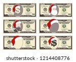 design template 50 dollars... | Shutterstock .eps vector #1214408776
