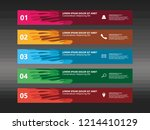 set of banners background... | Shutterstock .eps vector #1214410129