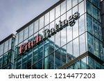 london  october  2018  fitch...   Shutterstock . vector #1214477203