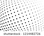 abstract halftone wave dotted... | Shutterstock .eps vector #1214482726