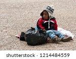 copacabana  bolivia   august 18 ... | Shutterstock . vector #1214484559