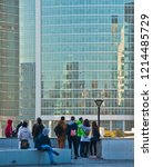 moscow  russia   october 13 ... | Shutterstock . vector #1214485729