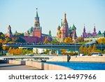 moscow  russia   october 13 ... | Shutterstock . vector #1214497966