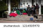 copacabana  bolivia   august 18 ... | Shutterstock . vector #1214505970