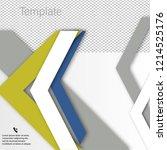 vector brochure template design ... | Shutterstock .eps vector #1214525176