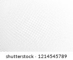 abstract halftone wave dotted...   Shutterstock .eps vector #1214545789