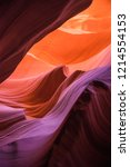 antelope canyon in arizona  usa | Shutterstock . vector #1214554153