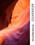 antelope canyon in arizona  usa | Shutterstock . vector #1214554159